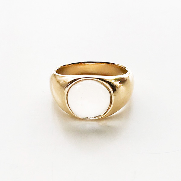 Wolf Circus/Otis Ring in 14k Gold Plated