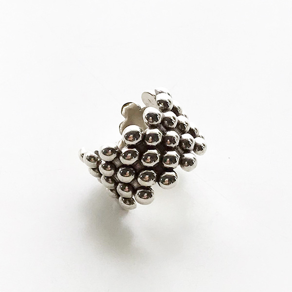 PHILIPPE AUDIBERT/Sid ring brass silver color,