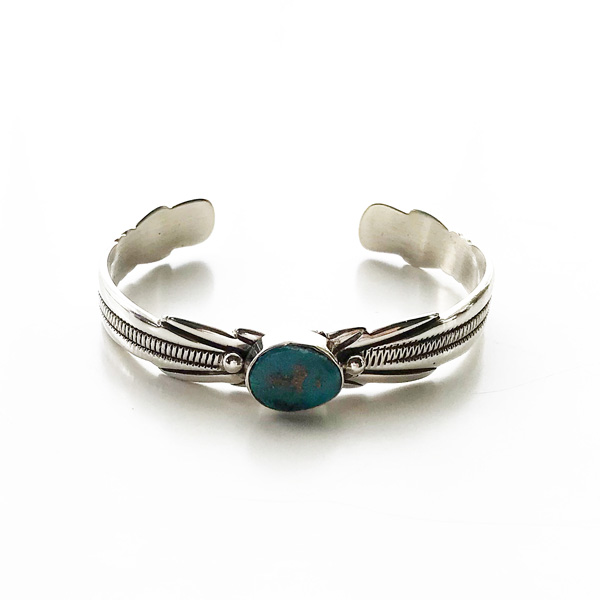 HARPO/BR04/2020ss One Stone Feather Bracelet