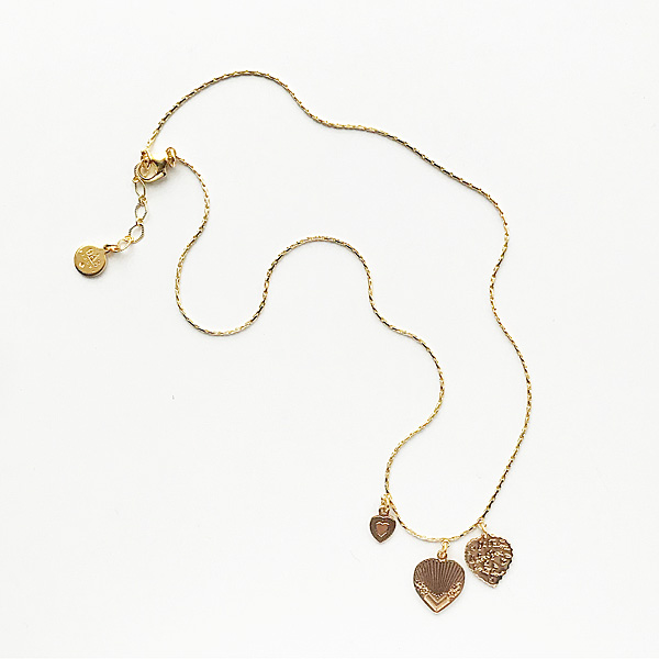 Gas Bijoux/Necklace:Love/mini/o/cho (ネックレス)