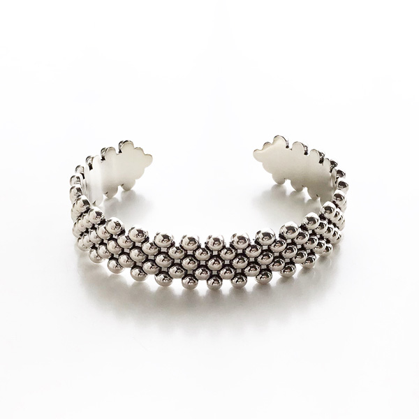 PHILIPPE AUDIBERT/Sid bracelet brass silver color,