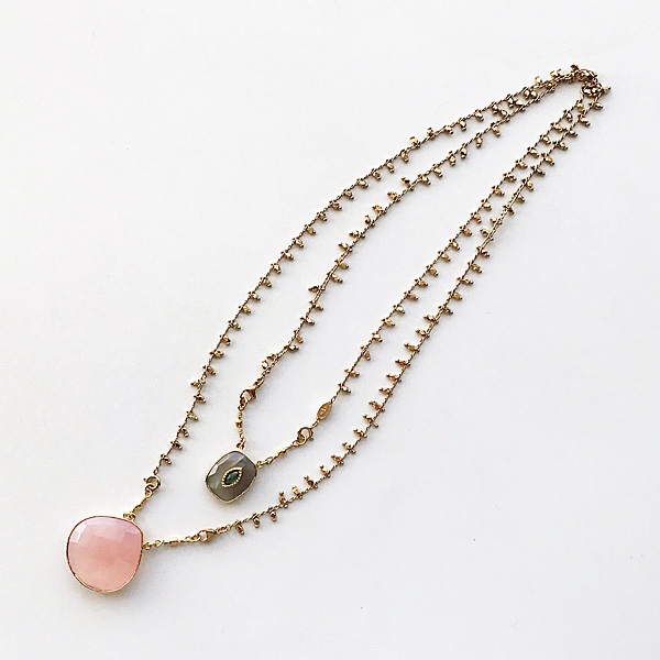 Gas Bijoux/Necklace:Scapulaire Serti a(ネックレス)
