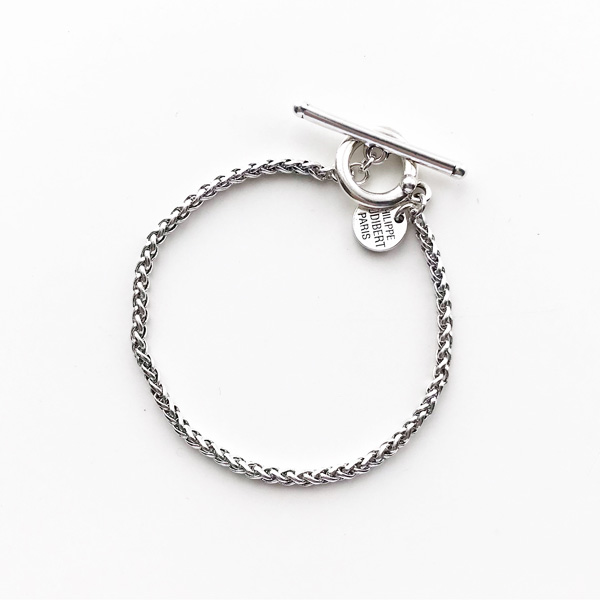 PHILIPPE AUDIBERT/Mathieu bracelet brass silver color,