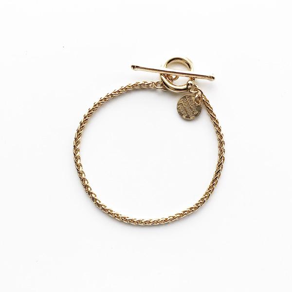 【再入荷】PHILIPPE AUDIBERT/Mathieu bracelet brass Light gold,