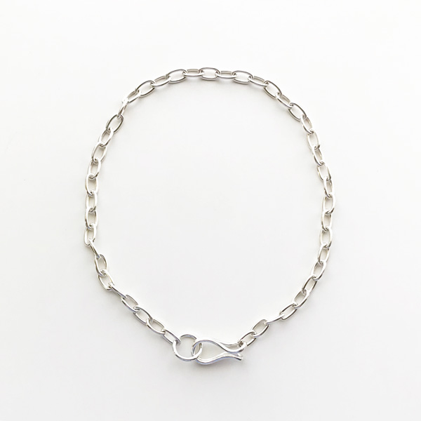 Saskia Diez/Girlfriend Necklace 38cm 925 Ag Silver