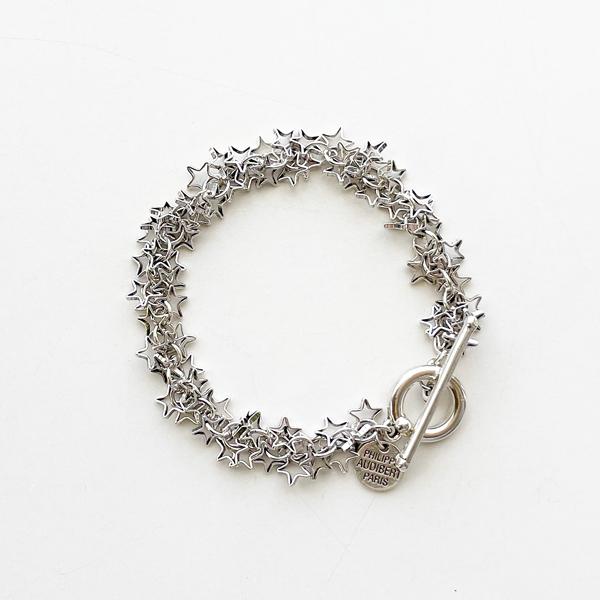 PHILIPPE AUDIBERT/Luyten bracelet, brass silver color,