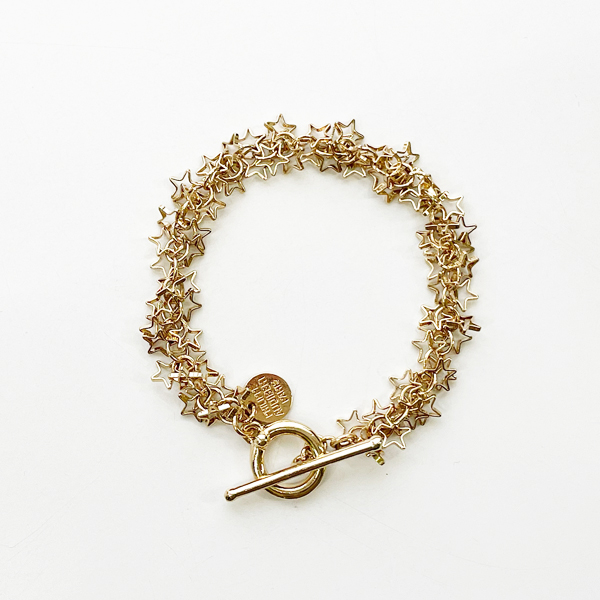 PHILIPPE AUDIBERT/Luyten bracelet, brass Light gold,