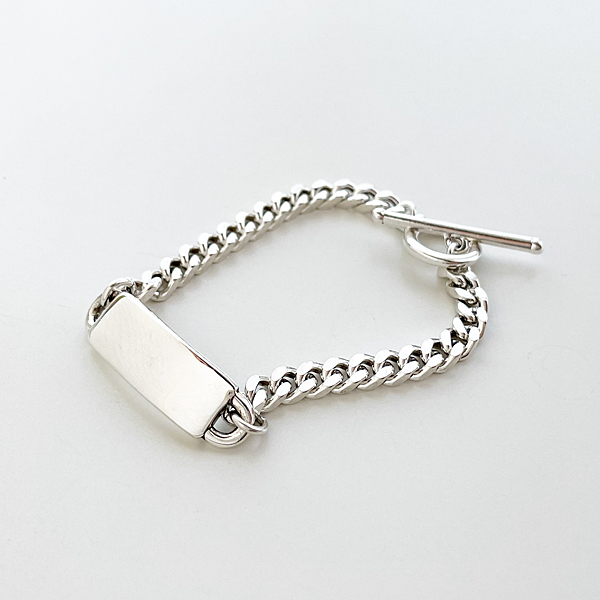 PHILIPPE AUDIBERT/Jaran bracelet brass silver color,