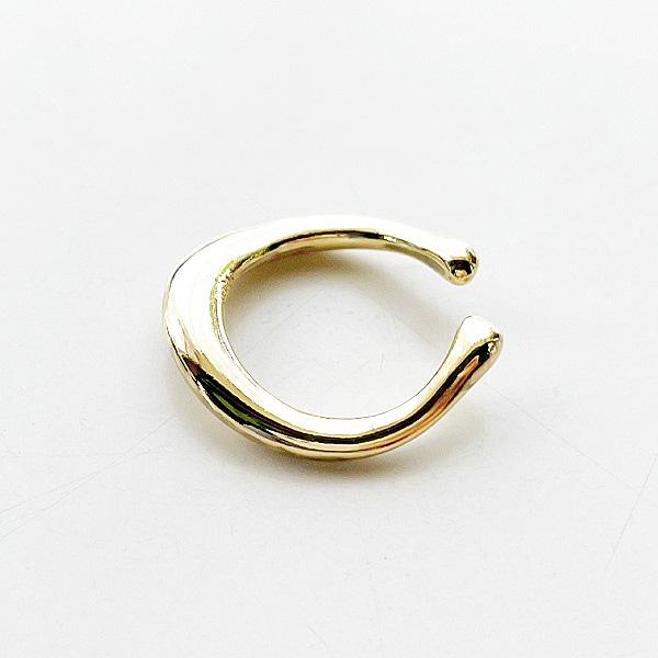 gren/リング&カフ ゴールド