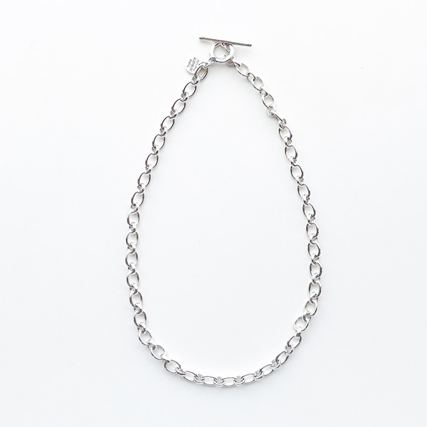PHILIPPE AUDIBERT/Marcus necklace brass silver color,
