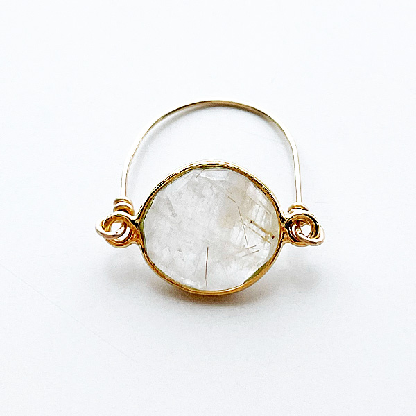 Louise Hendricks/Nora rutile quartz ring
