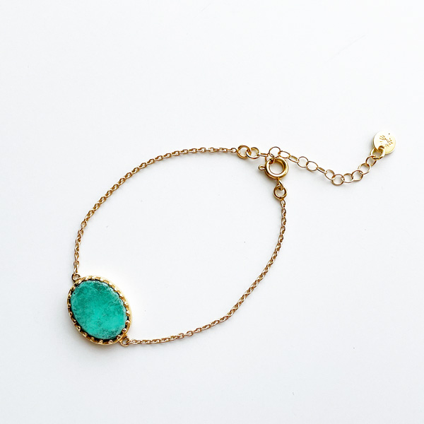 Louise Hendricks/Sofia Chrysoprase Bracelet