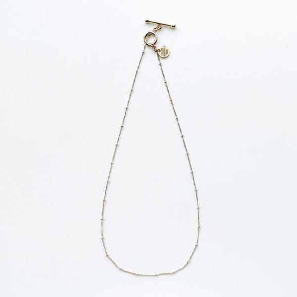 PHILIPPE AUDIBERT/Carly Collier Chaine Fine ET Billes in Light Gold,