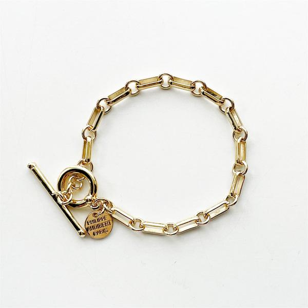 PHILIPPE AUDIBERT/Dakota bracelet S brass in Light gold,