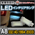LL-AU-CLA15 A8(D2 4D 1994-2003) 5603892W AUDI アウディー LEDインテリアランプ 室内灯 レーシングダッシュ製