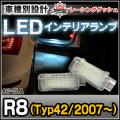 LL-AU-CLA23 R8(Typ42 20007以降) 5603892W AUDI アウディー LEDインテリアランプ 室内灯 レーシングダッシュ製
