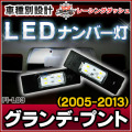 LL-FI-L03 GrandePunto グランデ・プント(2005-2013) 5606864W FIAT フィアット LEDナンバー灯 ライセンスランプ レーシングダッシュ製