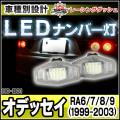LL-HO-B01 Odyssey オデッセイ(RA6 7 8 9系 1999-2003) 5604251W HONDA ホンダ LEDナンバー灯 ライセンスランプ レーシングダッシュ製