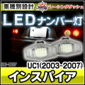 LL-HO-B07 INSPIRE インスパイア(UC1 2003-2007) 5604251W HONDA ホンダ LEDナンバー灯 ライセンスランプ レーシングダッシュ製