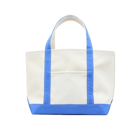 トートバック|帆布×帆布|L|キナリ×ブルー