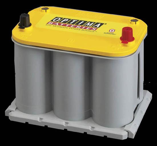 オプティマバッテリーイエロートップYT925SL 210クラウンハイブリットD23L取付キット