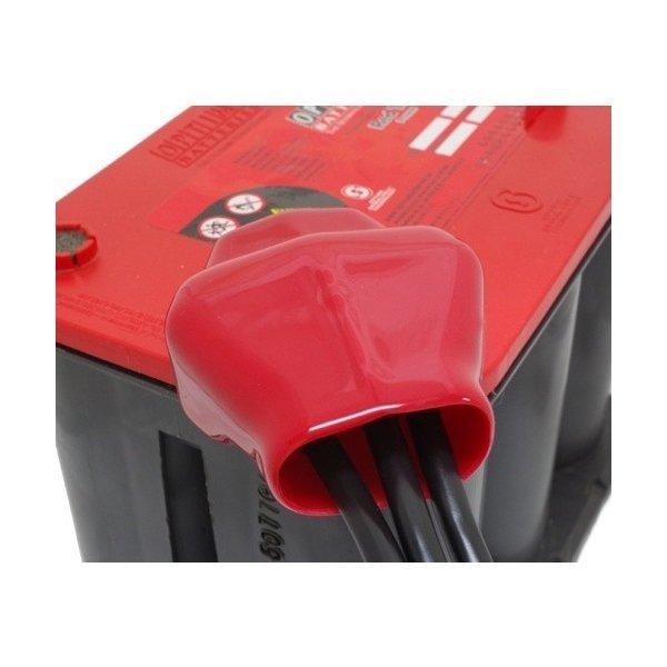 GTP-105 3分岐バッテリーターミナルカバー赤
