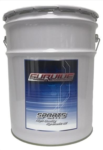 サバイブオイル スポーツ SPORTS 10W-60(最低受注単位はは1L以上になります。1Lに満たない量の受注はできません。ご注意ください)