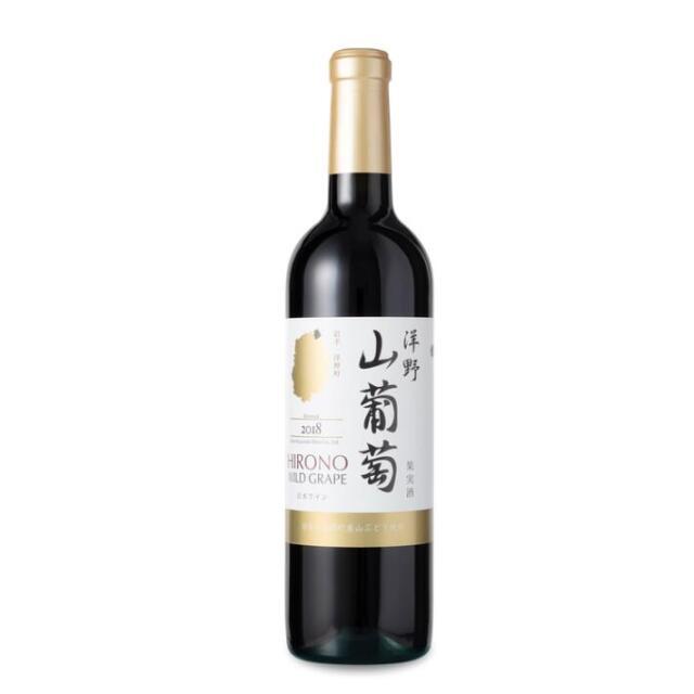 岩手くずまきワイン 洋野山葡萄ワイン720ml