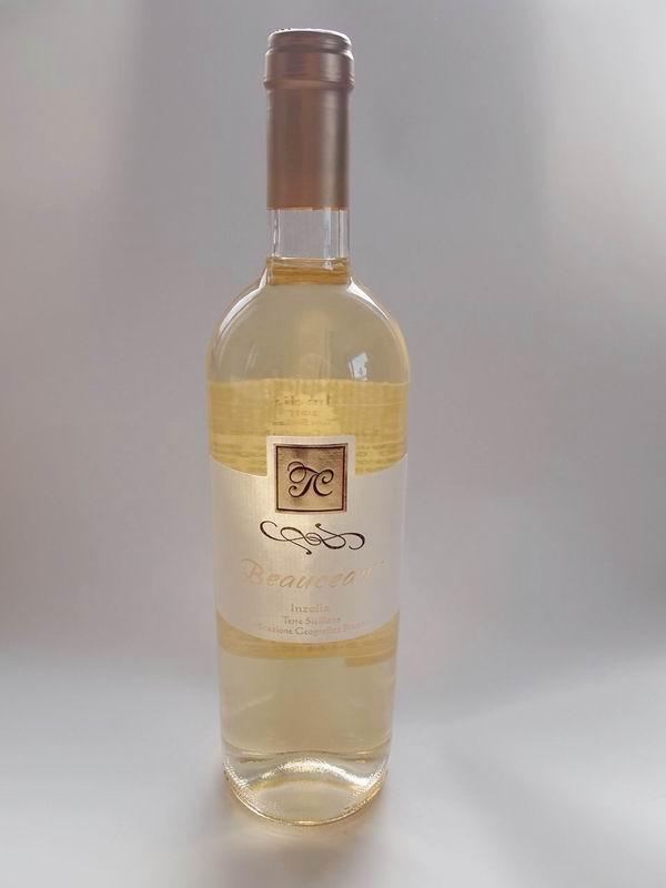 【レストラン飲食店向】ハウスワインに!イタリア・シチリア【直輸入】白ワイン 【CASA Inzolia】ヴィンテージ2015年 Inzolia インヅォリア 1ケース6本入り