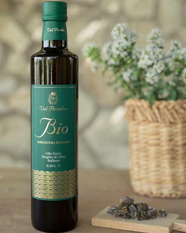 【オーガニックの先進国EU有機栽培認証】ヴァル・パラディーソ ビオ オーガニック(EU有機栽培認証)  500ml  イタリア・シチリア産 オリーブオイルソムリエがお勧めする良質なエキストラバージンオリーブオイル