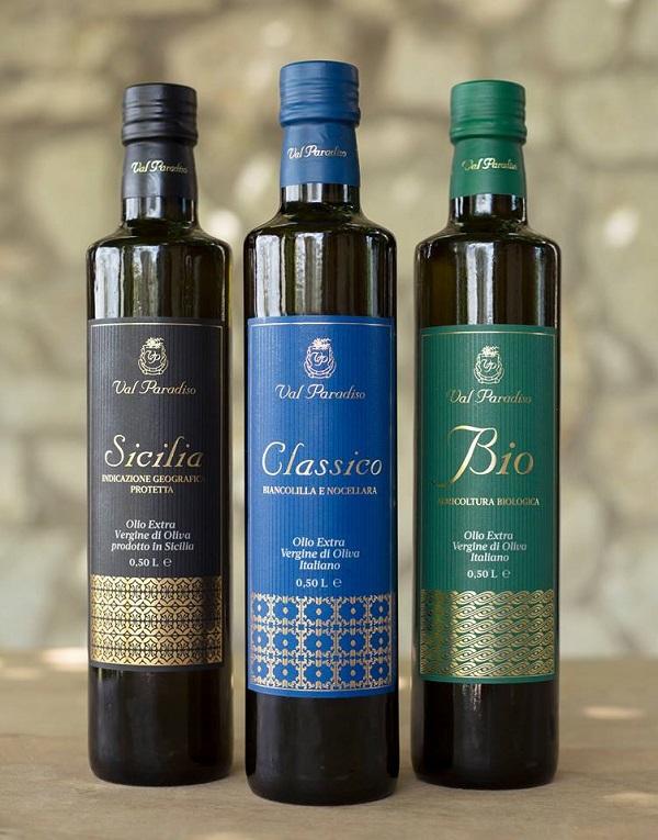 ヴァル・パラディーソ (ビオ・シチリア・クラシコ) 250mlx3  イタリア・シチリア産 オリーブオイルソムリエがお勧めする良質なエキストラバージンオリーブオイル