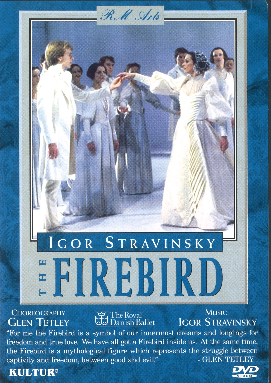 D0077 デンマーク・ロイヤル・バレエ「火の鳥」(直輸入DVD)