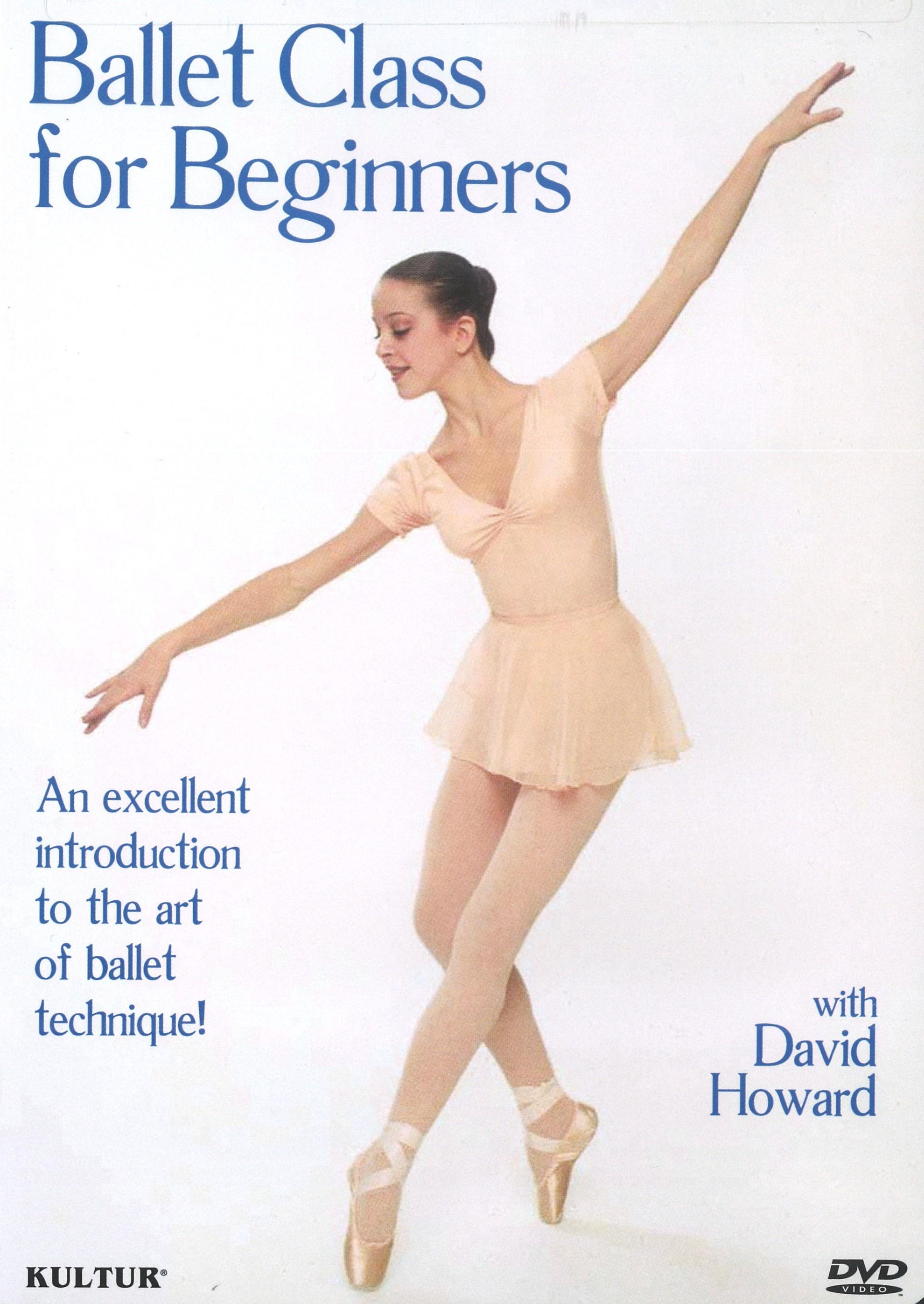 D1133 初心者のためのバレエ教本(直輸入DVD)