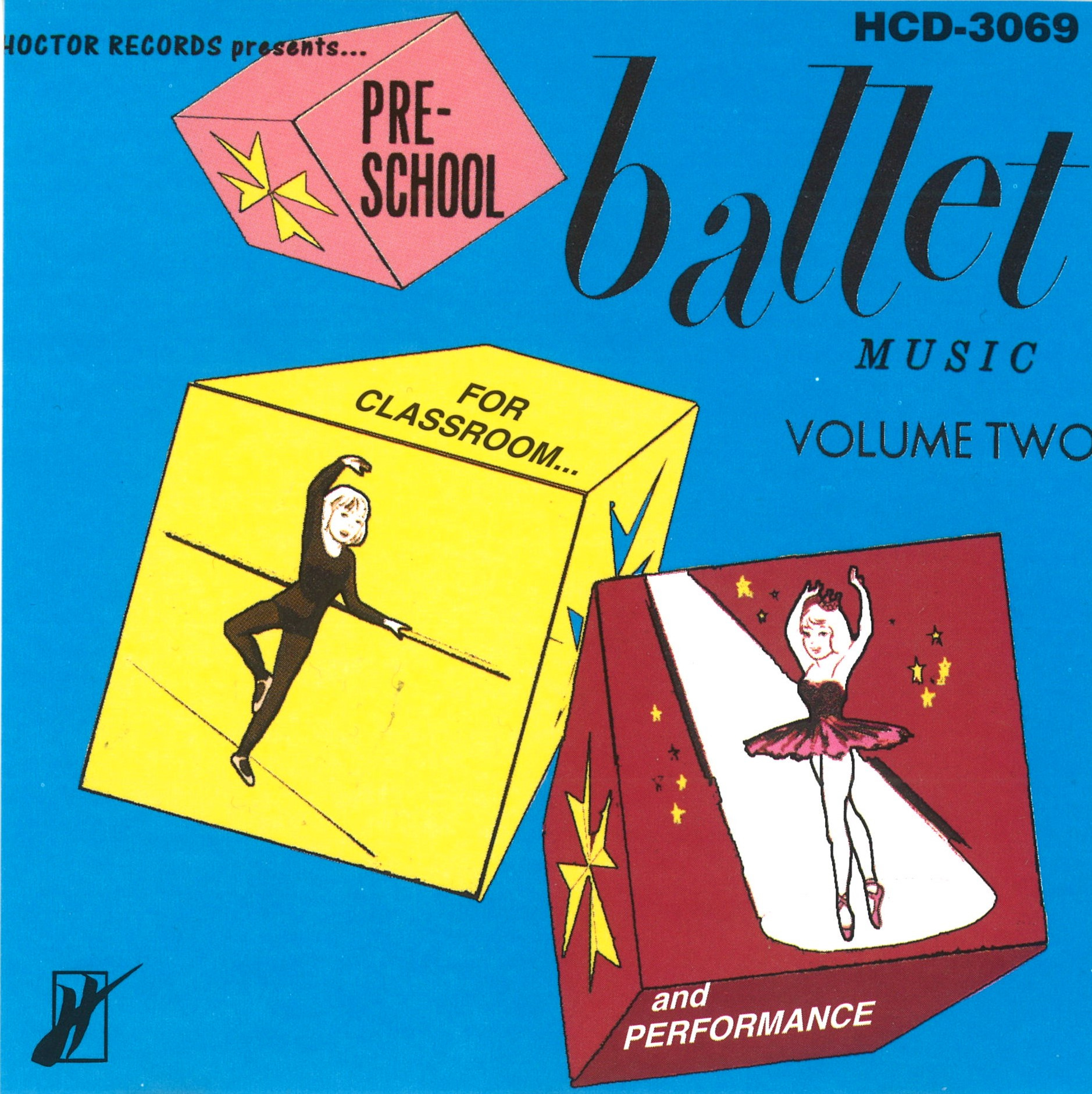 CD Pre-School Ballet Music Vol.2 (HCD-3069)