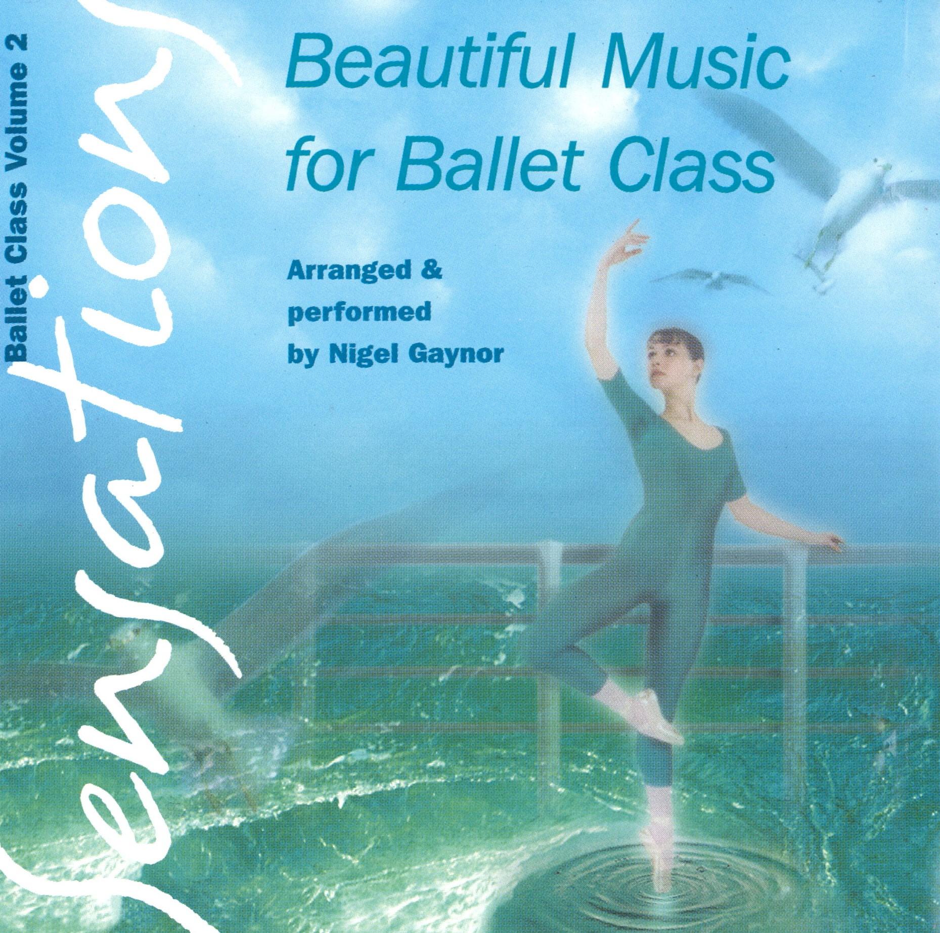 CD Beautiful Music for Ballet Class Vol.2-Sensations (NG02C Sensations)