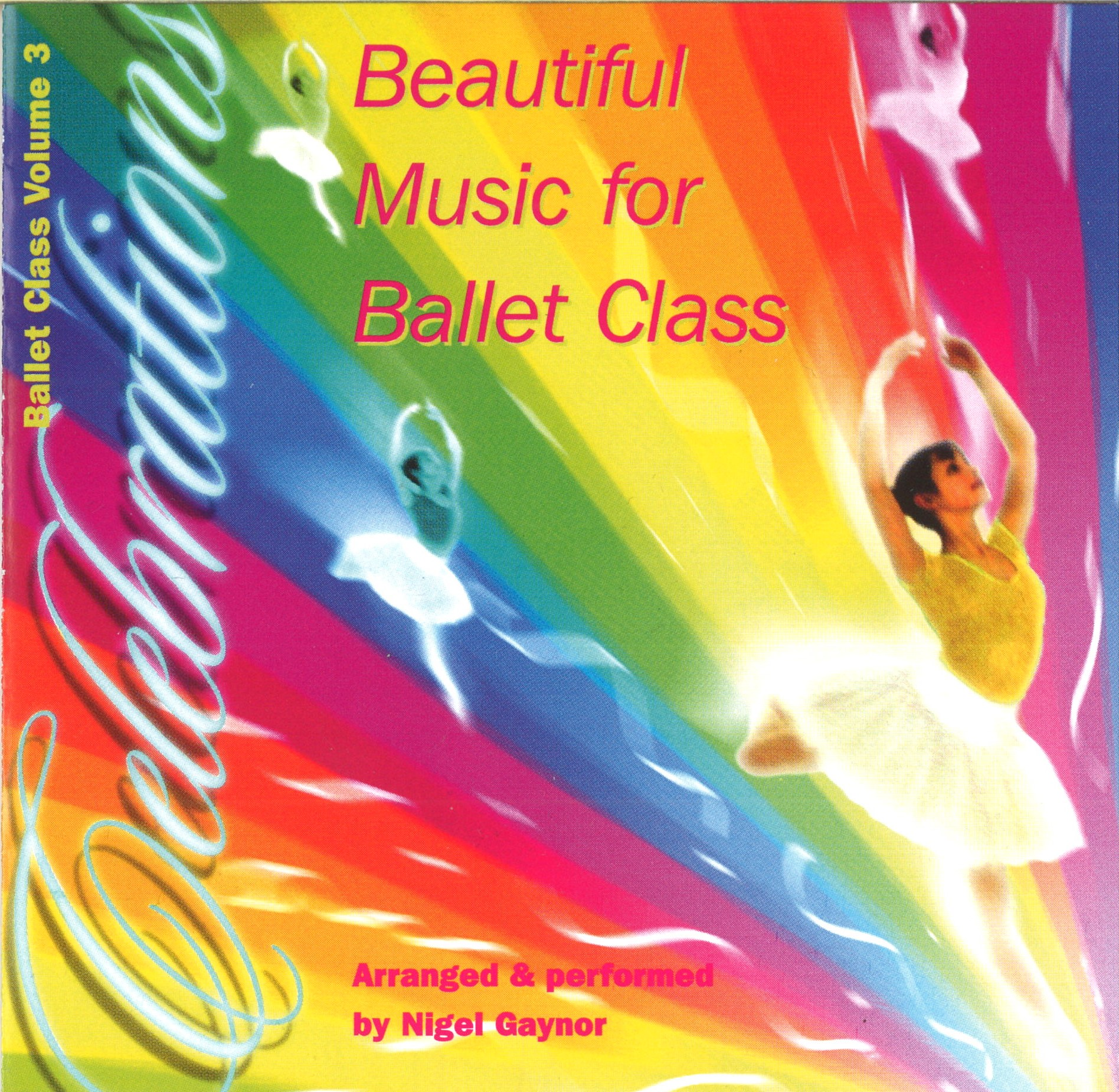CD Beautiful Music for Ballet Class Vol.3-Celebrations (NG03C Celebrations)