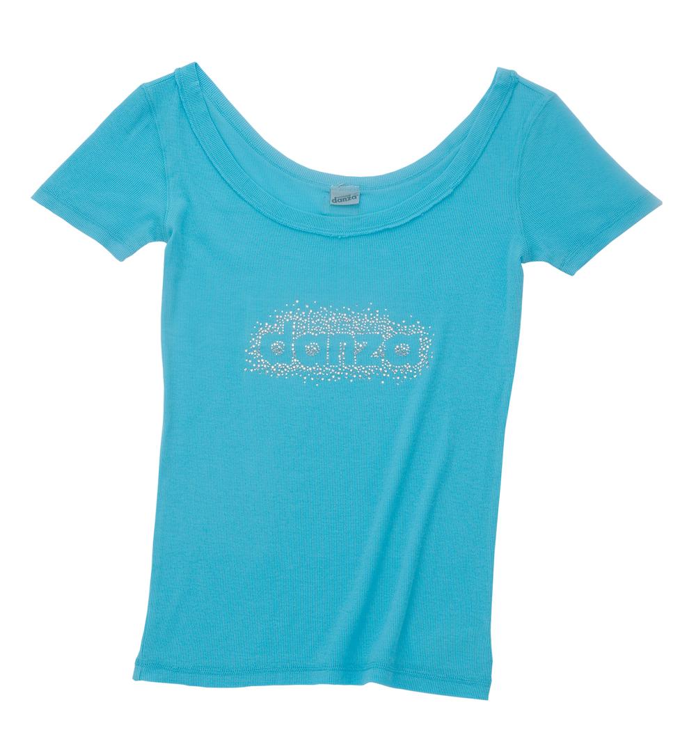 【SALE】29222-4057<ダンツァ>ラメTシャツ