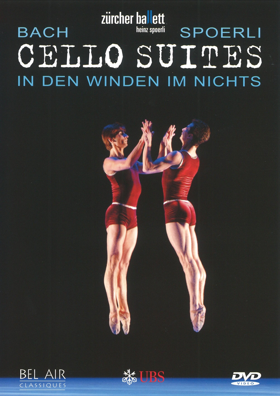 チューリヒ・バレエ団「CHELLO  SUITES」(直輸入DVD)
