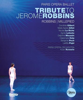 【OpusArte&BelAirフェア】パリ・オペラ座バレエ「ジェローム・ロビンズに捧ぐ」(直輸入Blu-ray)