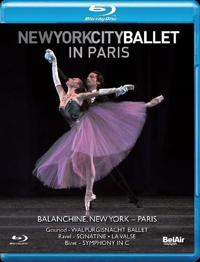 【OpusArte&BelAirフェア】ニューヨーク・シティ・バレエ・イン・パリ (直輸入Blu-ray)