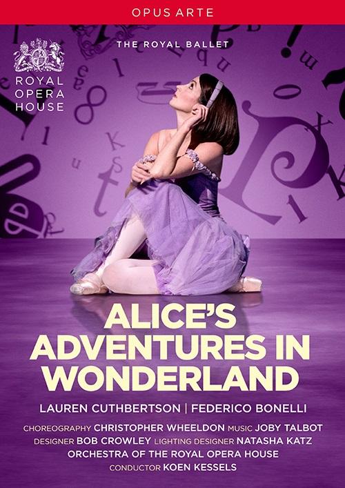 英国ロイヤル・バレエ「不思議の国のアリス」全3幕・2017  (直輸入DVD)
