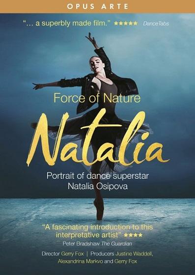 「Force of Nature - Natalia」ナタリア・オシポワ ドキュメンタリー(直輸入DVD)
