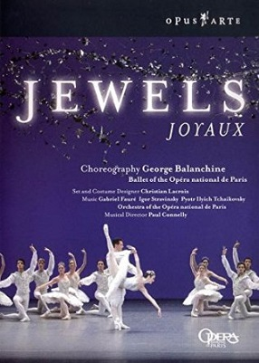 【OpusArte&BelAirフェア】パリ・オペラ座バレエ「ジュエルズ」(直輸入DVD)