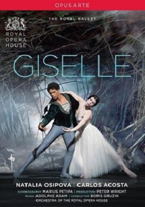 英国ロイヤル・バレエ「ジゼル」オシポワ&アコスタ(直輸入DVD)