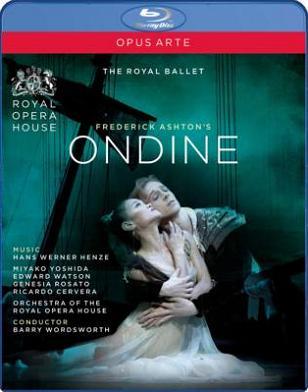 英国ロイヤル・バレエ「オンディーヌ」全3幕(直輸入Blu-ray)