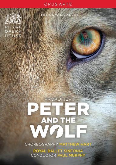 英国ロイヤル・バレエ学校「ピーターと狼」(全1幕)(直輸入DVD)