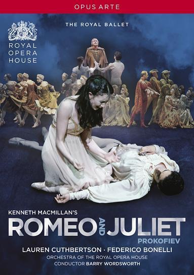 英国ロイヤル・バレエ「ロミオとジュリエット」カスバートソン&ボネッリ(直輸入DVD)