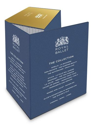 【特典付】英国ロイヤル・バレエ コレクション・ボックス ROYAL BALLET THE COLLECTION (直輸入DVD-BOX)