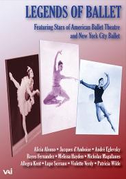 バレエの伝説~1960-65年のスターたち LEGENDS OF BALLET (直輸入DVD)