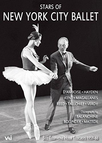 ニューヨーク・シティ・バレエのスターたち1959-66 (直輸入DVD)